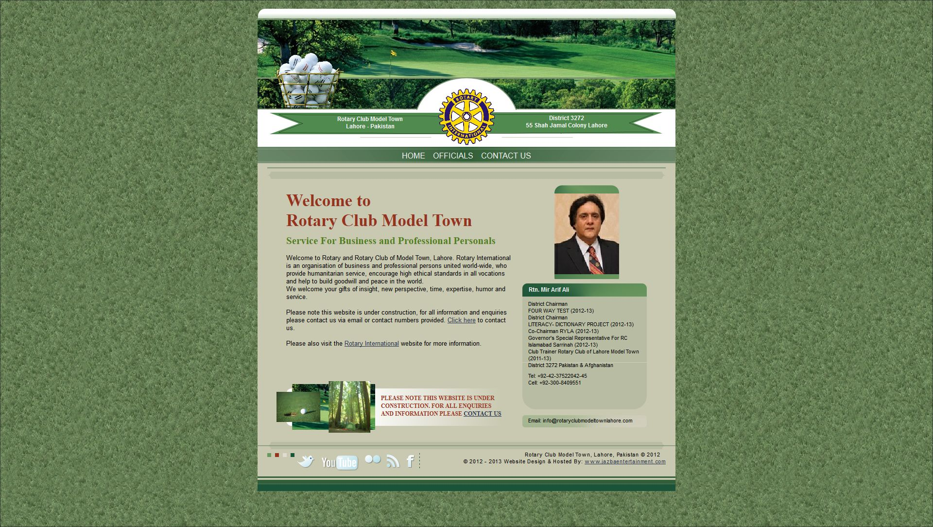 Rotary Club Model Town, Lahore [Community Organisation]