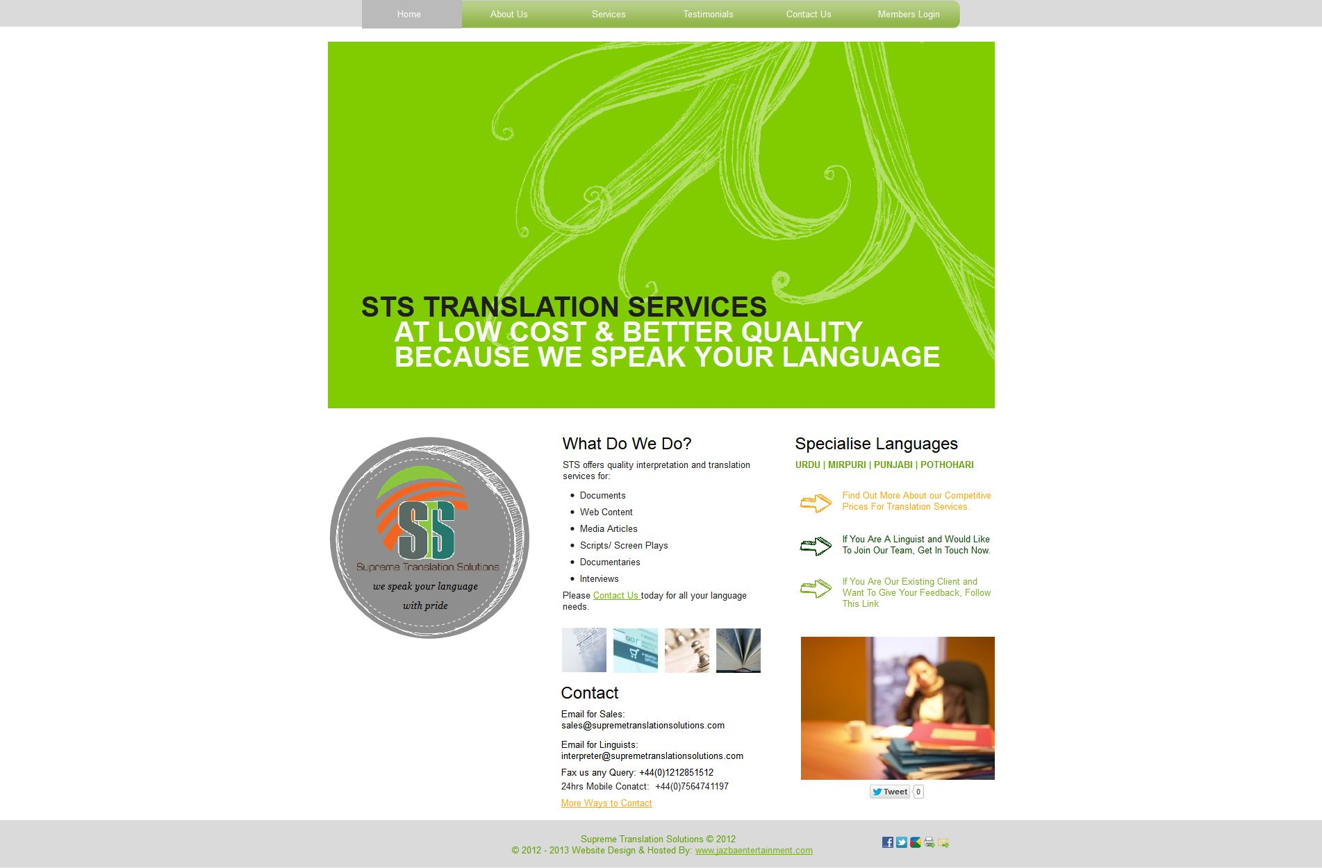 Supreme Translation Solutions